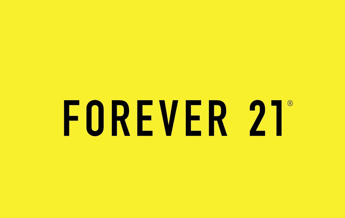 Forever 21 (located within Hudson's Bay) logo