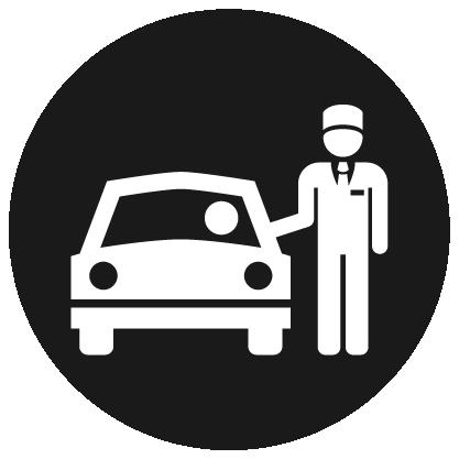 Valet Parking – North logo