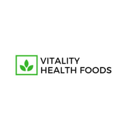 Vitality Health Foods logo