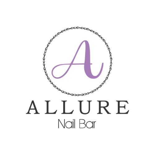 Allure Nails logo